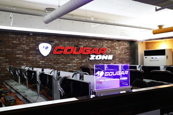 '쿠거 게이밍 기기가 한 곳에', 쿠거존PC방 성사점 오픈