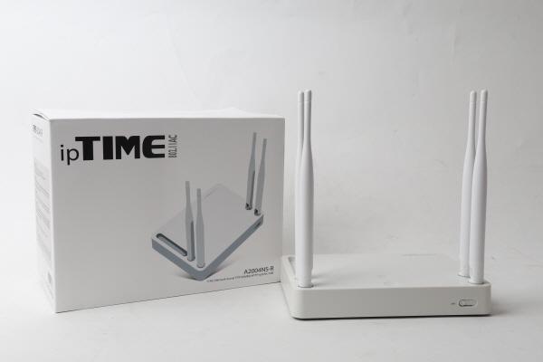 기가 와이파이 유무선 공유기의 베스트셀러, ipTIME A2004NS-R