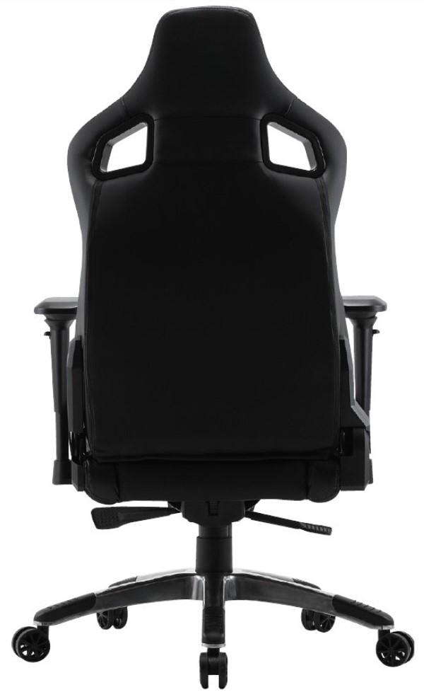 온갖 기능을 알차게 담아낸 올블랙 의자, 제닉스 ARENA-X 타입4 게이밍 의자