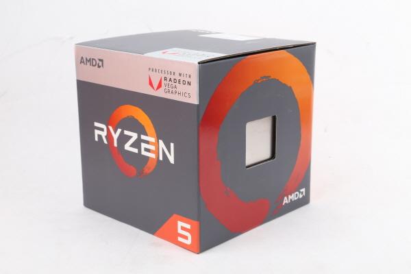마신 강림, AMD 레이븐 릿지 라이젠 5 2400G, 라이젠 3 2200G
