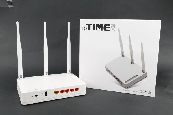 가성비 좋은 MU-MIMO AC1900 기가 와이파이 무선 공유기, ipTIME A5004NS-M