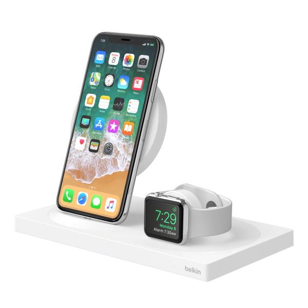 벨킨, 아이폰 XS·XS맥스·XR 및 애플워치 시리즈4용 BOOST ↑ UP 무선 충전 독 공개