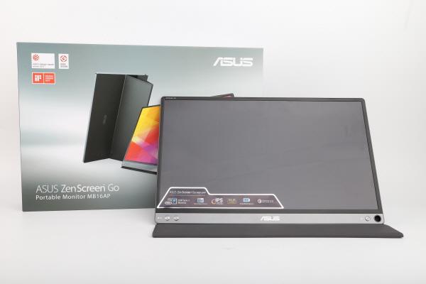 스마트폰 연결 가능 15.6인치 휴대용 모니터, ASUS ZenScreen GO MB16AP