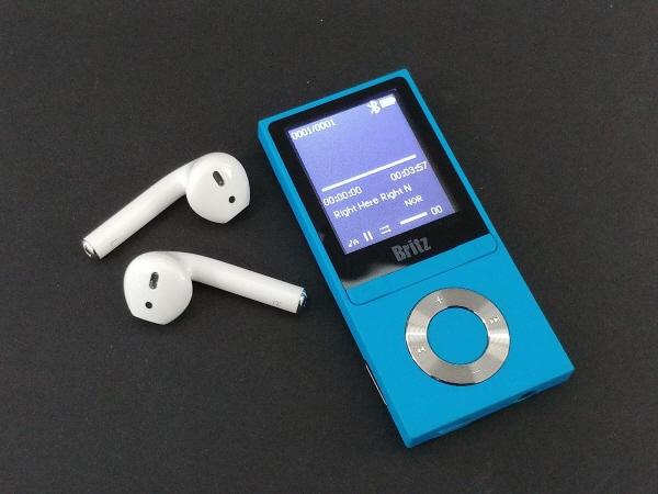 아웃도어에 탁월한 블루투스 MP3 플레이어, 브리츠 BZ-MP4580BL