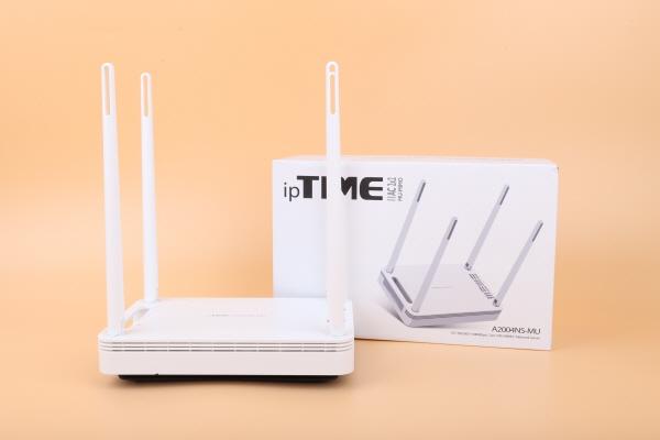 성능이 더 향상된 기가 와이파이 유무선 공유기, ipTIME A2004NS-MU