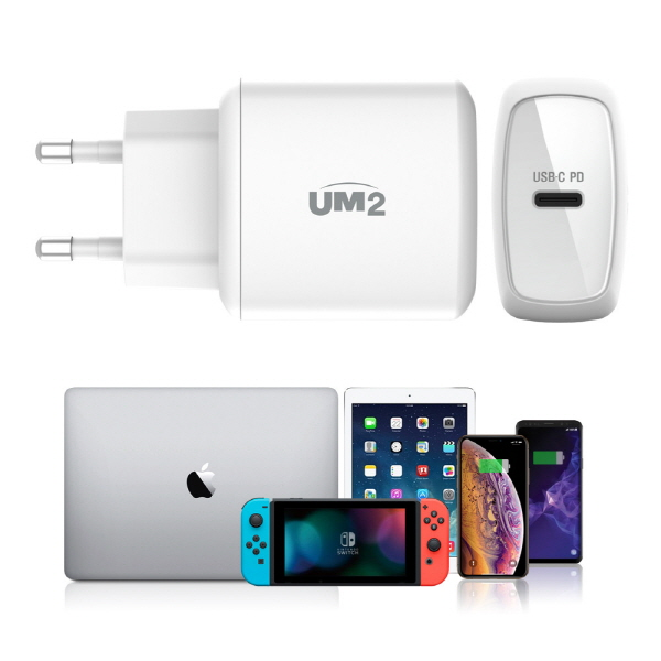 UM2, 아이패드 미니5 위한 고속충전기 'UPD18W' 출시