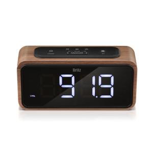 브리츠, 우든디자인의 라디오 겸용 디지털시계 'BA-CR2' 출시